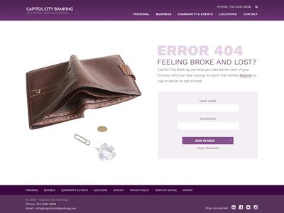 404 - Feeling Broke?