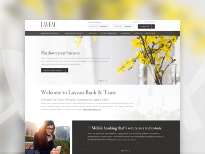 Marie Laveau Banking Website