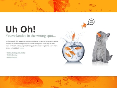 Silly Fish 404 Page