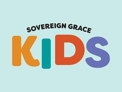 Sovereign Grace Kids logotype logo design branding and identity logo design branding logo