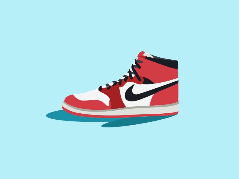 Nike Illustration vector flat illustration illustration