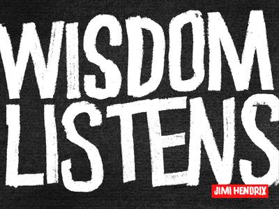 Wisdom Listens