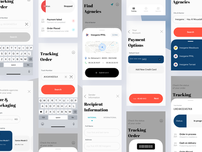 Amana Express — Unaccomplished Project... 🏳️ ui ux user interface ux design minimal ui design user experience user interface design mobile app ios mobile application