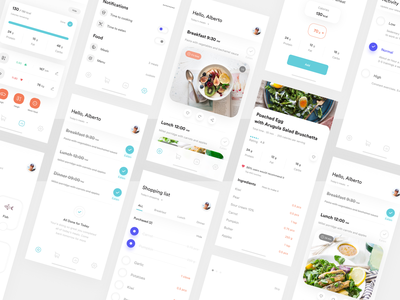 __Mealyoum App 🍲 food meals recipes ux ui ux design ux user interface design user interface user experience uix ui design ui search mobile app minimal ios mobile application icon flat clean app