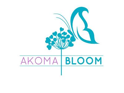 Akoma B. Logo Concept vector branding design