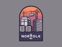 Norfolk Badge