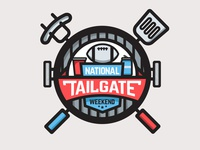 National Tailgate Weekend Badge