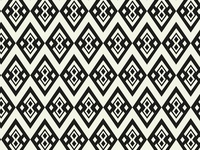 Geometric ethnic pattern design