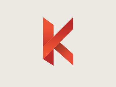 Geometric K Logo Concept: Version 3