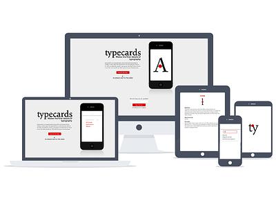 V1 Launch type typography app project ios cala typecards avenir next flash cards