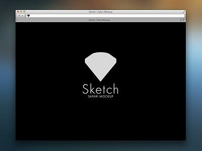 Safari Browser freebie sketch mockup browser vector safari