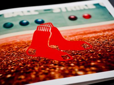 Sox Card card red sox mlb baseball