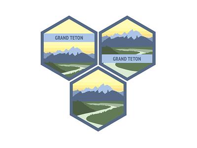 Teton Badges