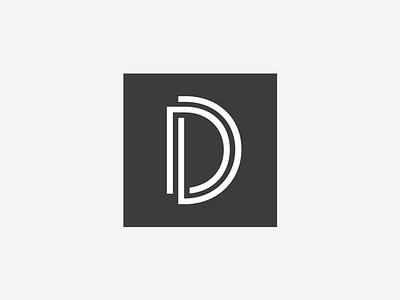 Proj D Logomark d logo mark logomark art deco sans-serif landmark