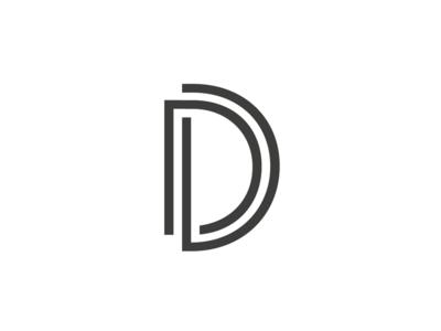 Proj D Logomark v2 logo art deco d landmark logomark mark sans-serif
