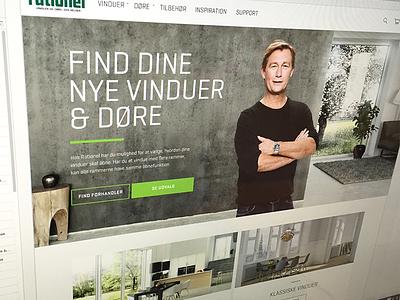 E-commerce project magento webdesign design webshop