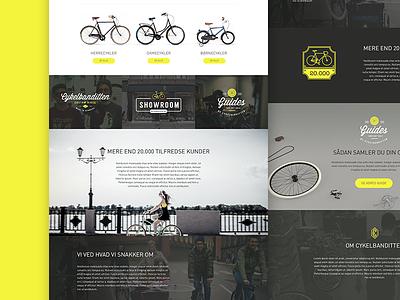 Bikestore magento webshop webdesign design ecommerce