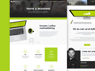 New project in the making webdesign wordpress website