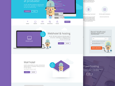 Webdesign flatdesign design ux ui webdesign