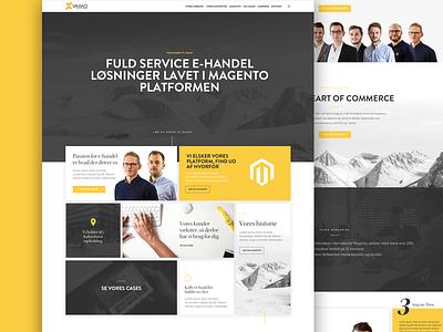 Redesign vaimo responsive web design ecommerce webdesign website