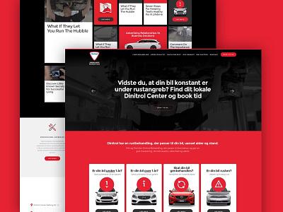 Dinitrol brush up wordpress ux ui clean website webdesign
