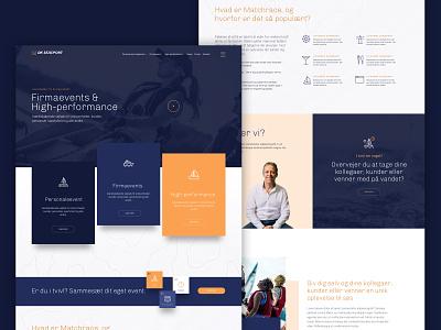 Out on the ocean denmark wordpress clean uidesign uiux ui webdesigner webdesign