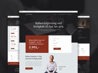 Website for Copenhagen lawyers