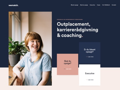 New website in the making web flatdesign logo wordpress ux ui clean website design webdesign