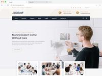 Kickoff HTML5 Template