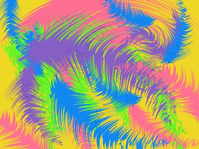 Colorful coconut leaf abstract background vector social media digital products promotion coconut coconut leaf colorful ui illustration graphic design design branding abstract background