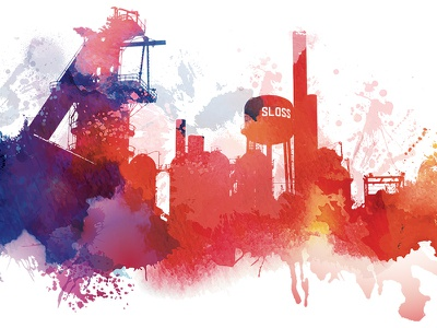 Sloss Furnace Graphic