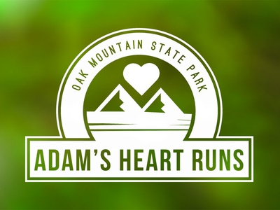 Adam's Heart Runs Logo