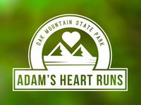 Adam's Heart Runs Logo
