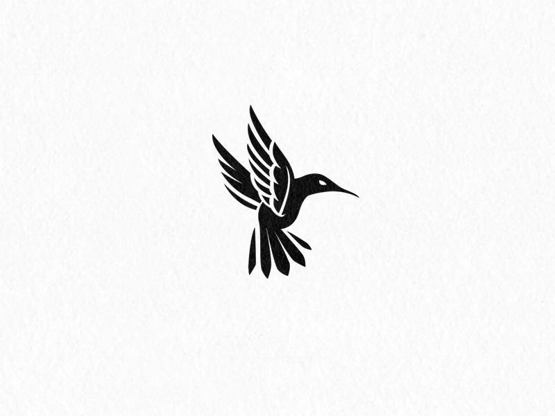 Hummingbird Logo flight logo bird humming
