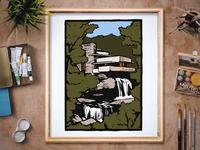 Fallingwater Illustration