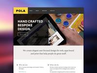 Pola - html prototype