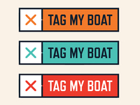 Tag My Boat logo colours