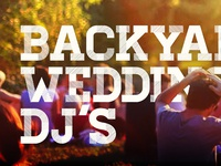 Backyard Wedding Dj's