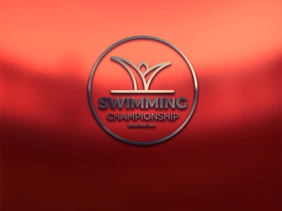 Swimming Championship Concept vector logo illustration icon graphic design design branding animation