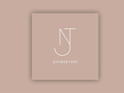 Design Concept with letters Jnt ux vector ui logo illustration icon graphic design design branding animation