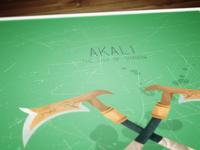 League of Legends Poster: Akali.