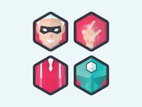 Albus power icons
