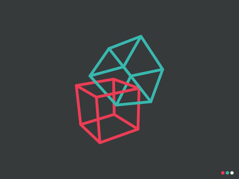 II: Hexaedro geometry art illustration triangle icon