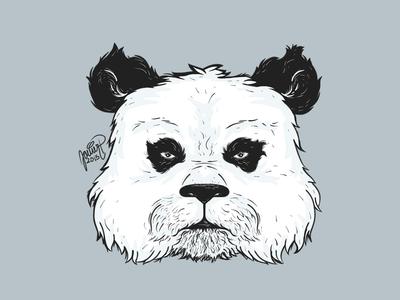 Panda art illustration sketchbookpro panda animal