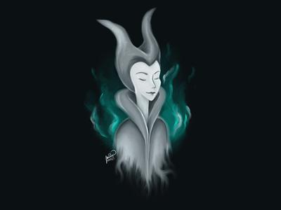 Maleficent art illustration sketch concept maleficent disney