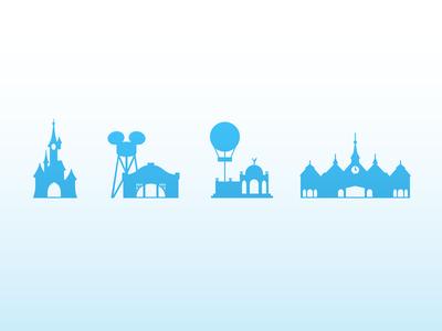 Disneyland Paris icons