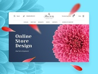 Flower Store Website