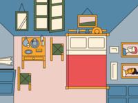 """""""Bedroom in Arles"""""""