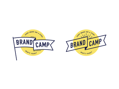 A couple of scrapped badge ideas