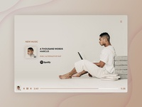 Music Player UI - FREE PSD